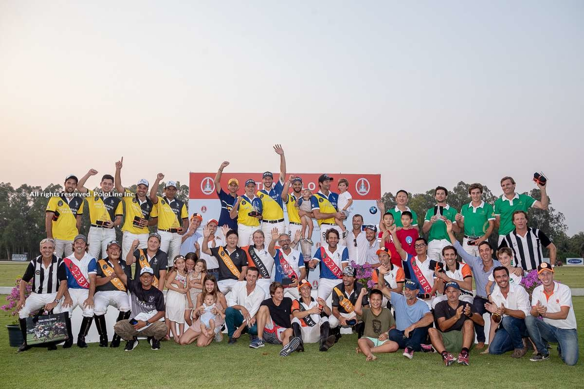 B. Grimm Thai Polo Masters Prize Giving