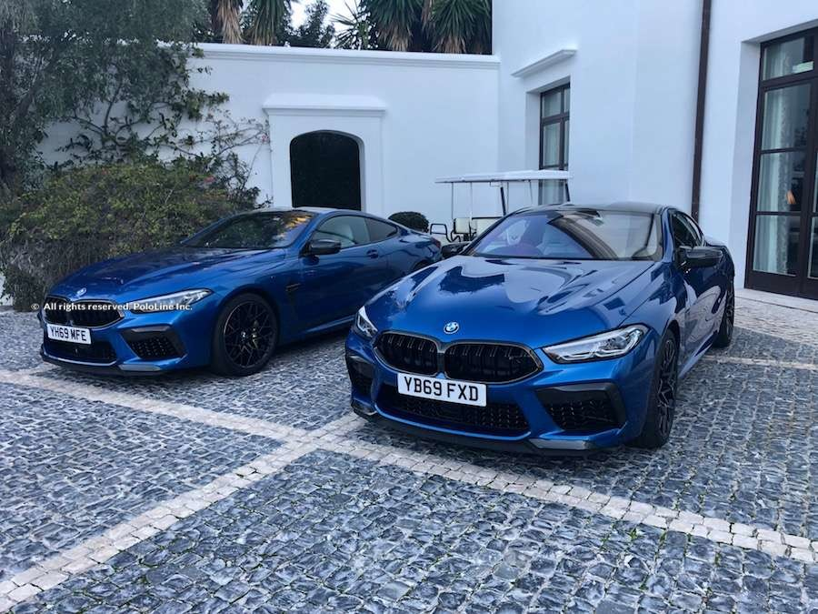 BMW M8 at Finca Cortesin