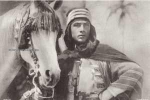 Jadaan, Rudolph Valentino's horse