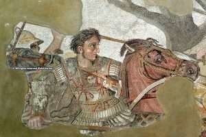 Alexander the Great & Bucephalus, to the conquest of the world
