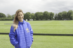 """It's a very good time here in England for women's polo"""