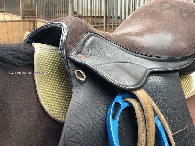 VIP pad and Saddle Company polo saddle