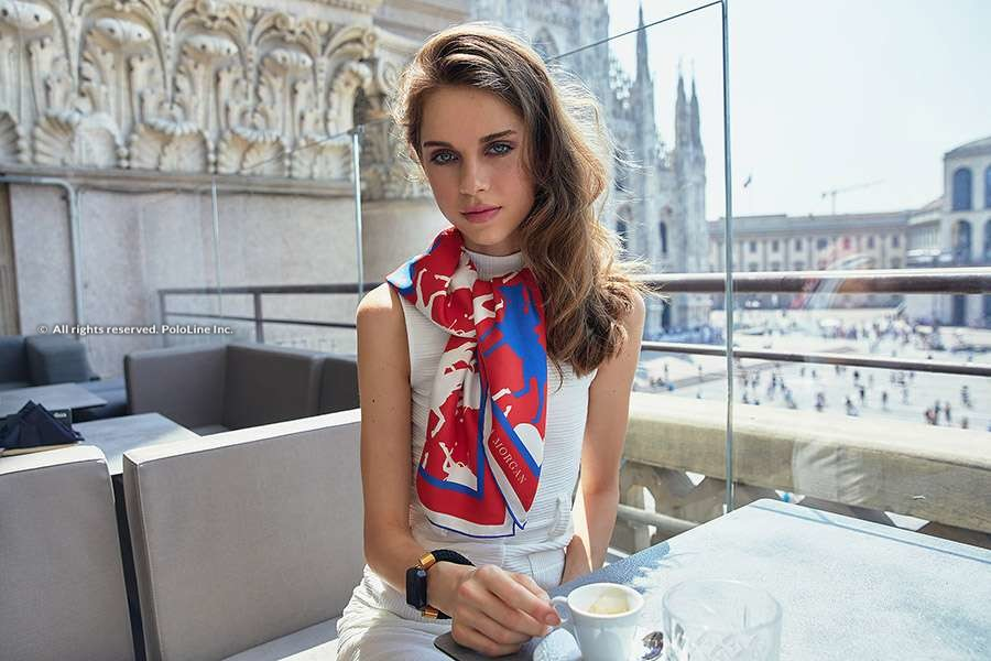 Katerina Morgan Silk Scarves