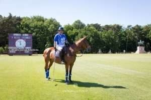 Clive Reid doubles his bid before making history at Guards Polo Club