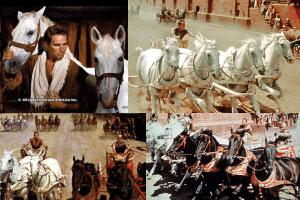 The horses of Ben Hur and the most epic scene in movie history
