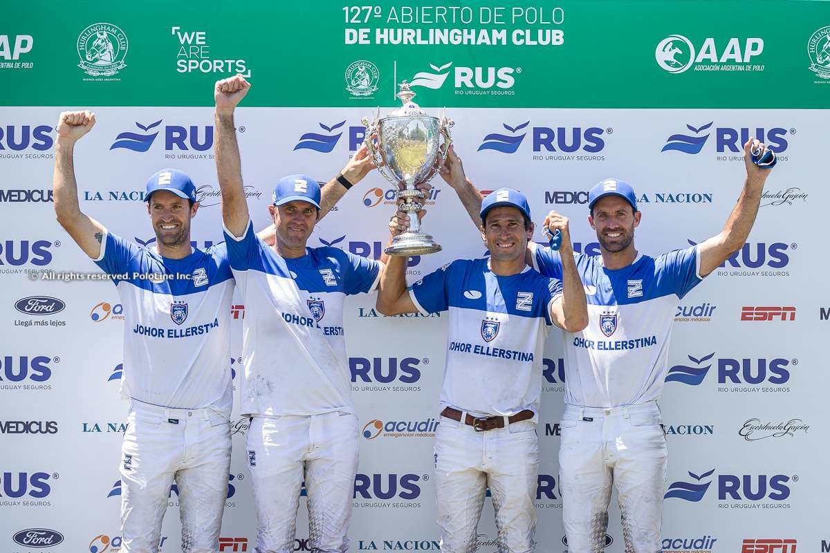 HURLINGHAM OPEN FINAL: Ellerstina vs RS Murus Sanctus