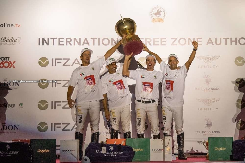 IFZA Gold Cup Prize Giving
