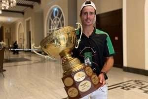 """""""It's nice to know how much the Gold Cup weighs and be able to lift it"""""""