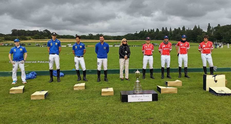 Gold Cup for the British Open, Sunday July 4