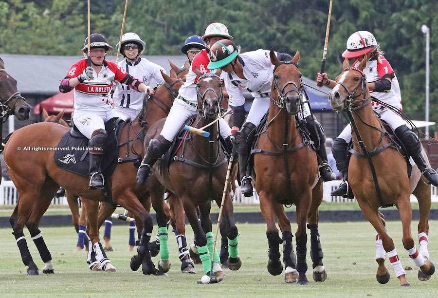 The Ladies 18-goal, Cirencester, Final, Semper Anticus vs. La Ruleta/La Rosada